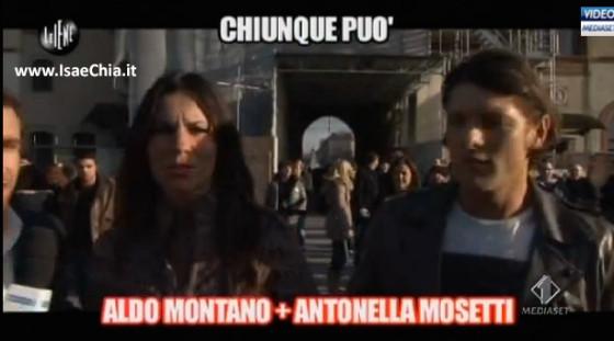 Aldo Montano e Antonella Mosetti