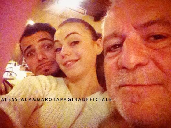 Aldo Palmeri Alessia Cammarota e Il padre di Alessia