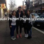 Aldo Palmeri con le fan