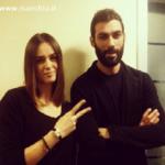 Francesco Arca e Kasia Smutniak