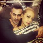Gianni Sperti e Karina Cascella