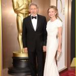 Oscar 2014 - Harrison Ford e Calista Flockhart