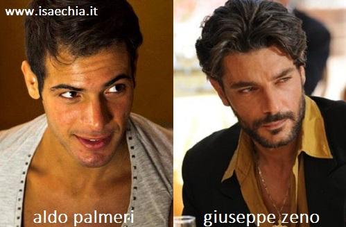 Somiglianza tra Aldo Palmeri e Giuseppe Zeno