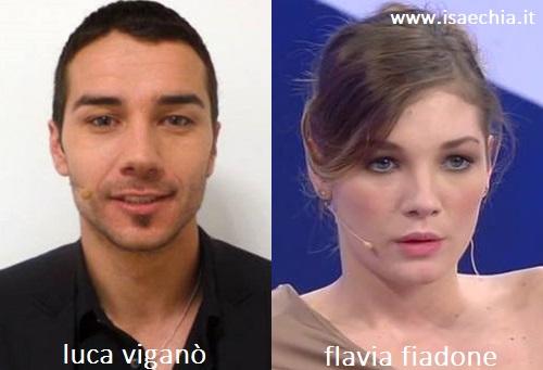 Somiglianza tra Luca Viganò e Flavia Fiadone