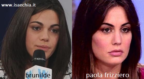 Somiglianze tra Brunilde e Paola Frizziero