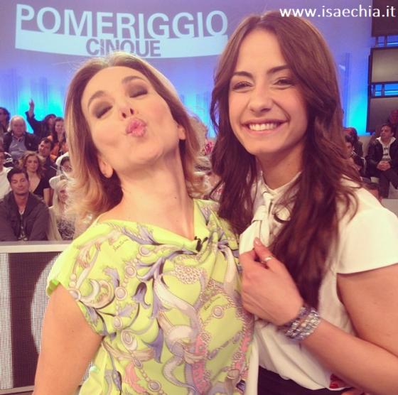 Barbara D'Urso e Anna Munafò
