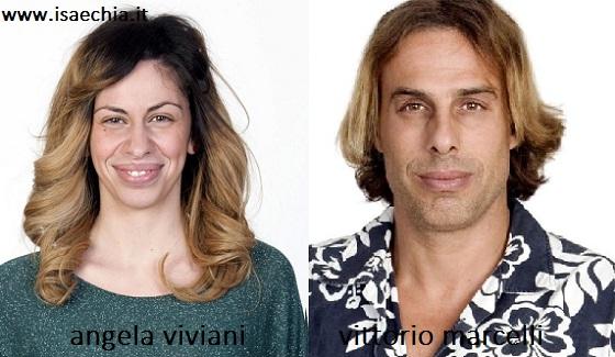 Somiglianza tra Angela Viviani e Vittorio Marcelli