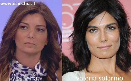 Somiglianza tra Anna e Valeria Solarino