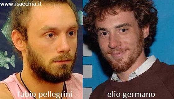 Somiglianza tra Fabio Pellegrini e Elio Germano