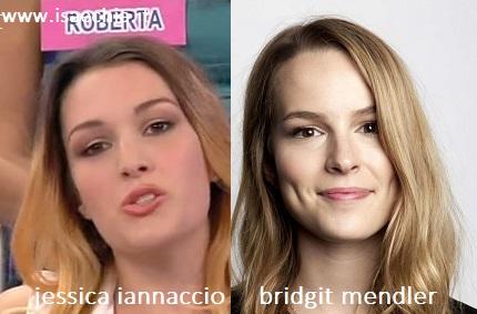 Somiglianza tra Jessica Iannaccio e Bridgit Mendler