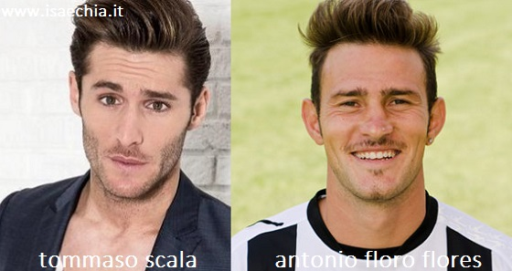 Somiglianza tra Tommaso Scala e Antonio Floro Flores