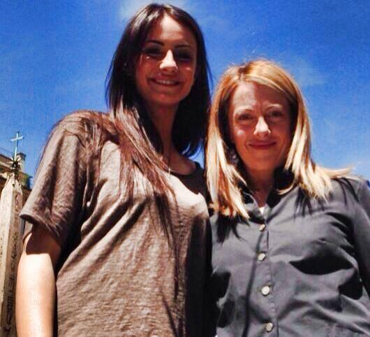 Anna Munafò, Giorgia Meloni