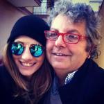 Giorgia Lucini con il papà