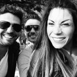 Luce Barucchi, Luca Viganò e Claudio della redazione