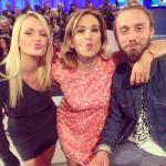 Valentina Acciardi, Barbara D'urso, Fabio Pellegrini