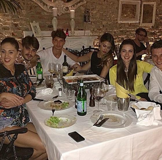 Cecilia Rodriguez, Francesco Monte, Stefano De Martino, Belen Rodriguez, Adelaide De Martino