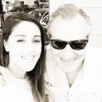 Cecilia Rodriguez e papà Monte