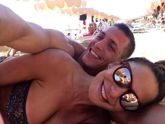 Claudio D'Alessio e Nicole Minetti