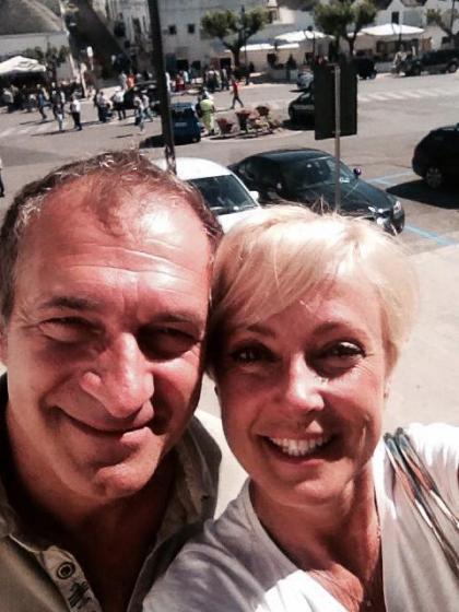 Silvia Fabi e Giuseppe