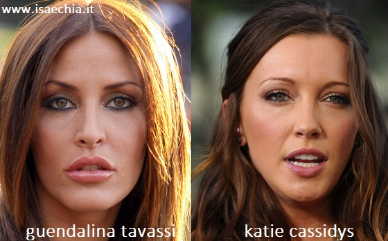 Somiglianza tra Guendalina Tavassi e Katie Cassidy