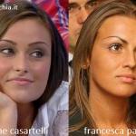 Somiglianza tra Irene Casartelli e Francesca Pascale
