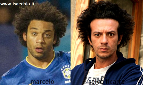 Somiglianza tra Marcelo e Salvo Ficarra