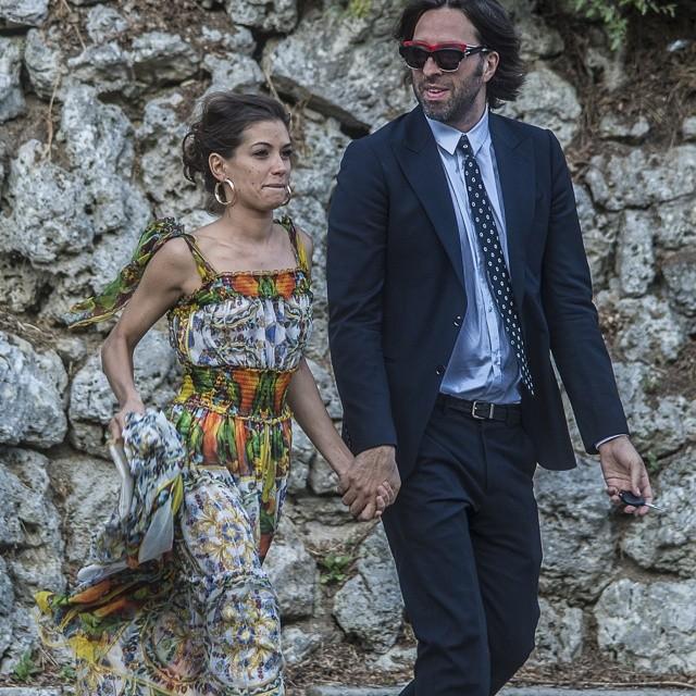 Marco bocci e laura chiatti sono marito e moglie le foto del matrimonio svoltosi ieri a perugia