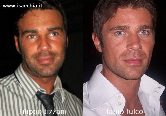 Somiglianza tra Filippo Tizzani e Fabio Fulco