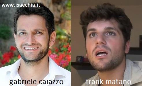 Somiglianza tra Gabriele Caiazzo e Frank Matano