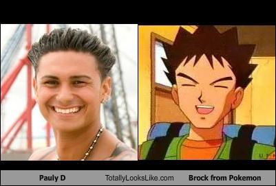 Somiglianza tra Pauly D e Brock di 'Pokemon'