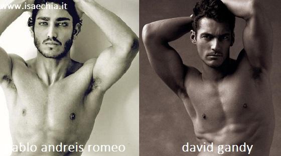 Somiglianza tra Pablo Andreis Romeo e David Gandy