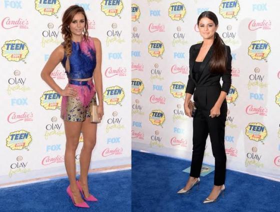 Teen Choice Awards - Nina Dobrev e Selena Gomez