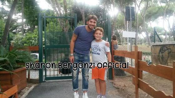 Andrea Cerioli con un fan