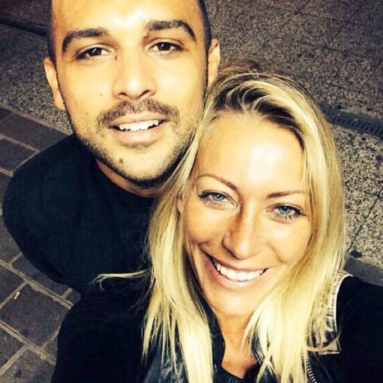 Karina Cascella e Ilario Alicante