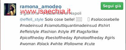 Ramodeo Amodeo su Instagram