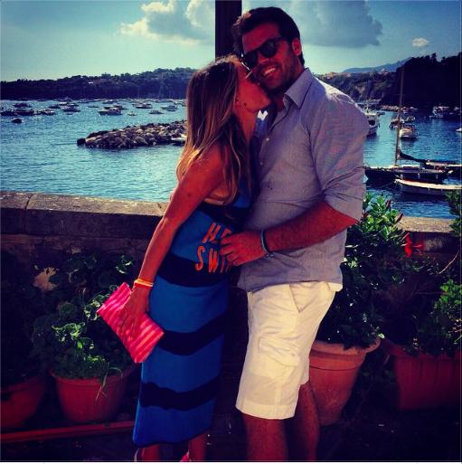 Ramona Amodeo e il fidanzato