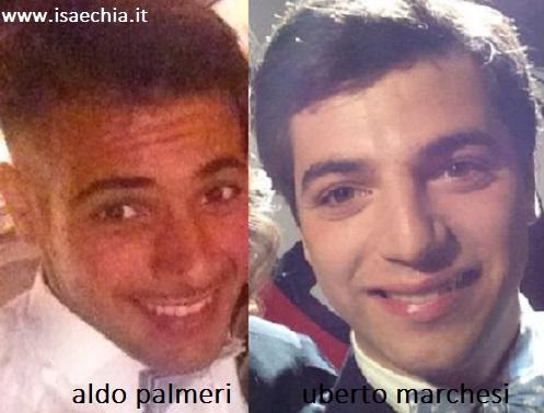 Somiglianza tra Aldo Palmeri e Uberto Marchesi