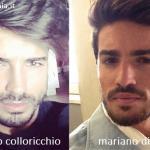 Somiglianza tra Fabio Colloricchio e Mariano Di Vaio