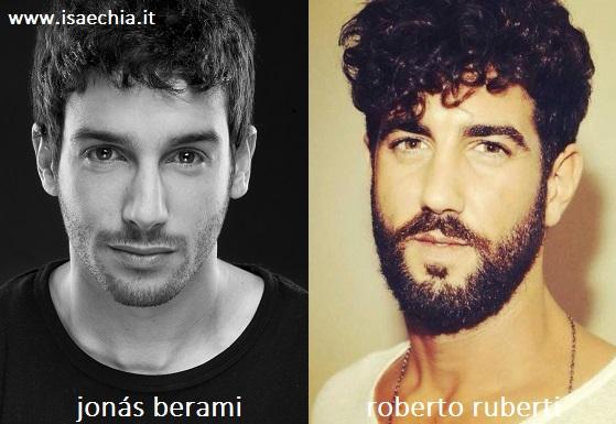 Somiglianza tra Jonás Berami e Roberto Ruberti