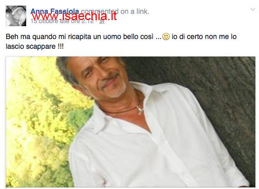 Anna Fassiola su Facebook