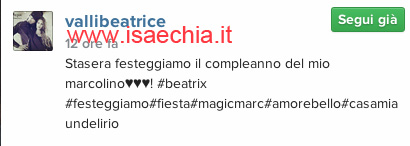 Beatrice Valli su Instagram1