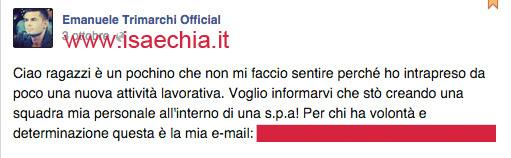 Emanuele Trimarchi su Facebook copia
