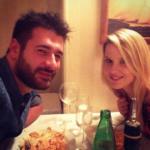 Federico D'Aguanno e la Fidanzata