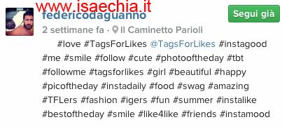 Federico D'Aguanno su Instagram
