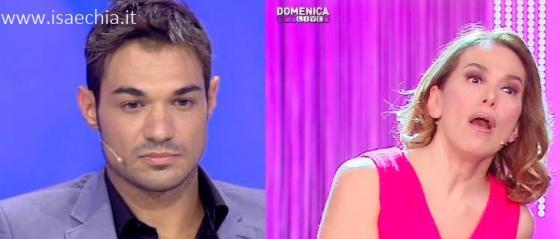 Leonardo Greco e Barbara D'Urso