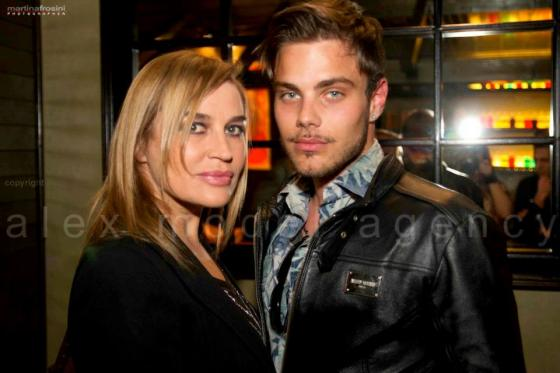 Simone Taranto e Lory Del Santo