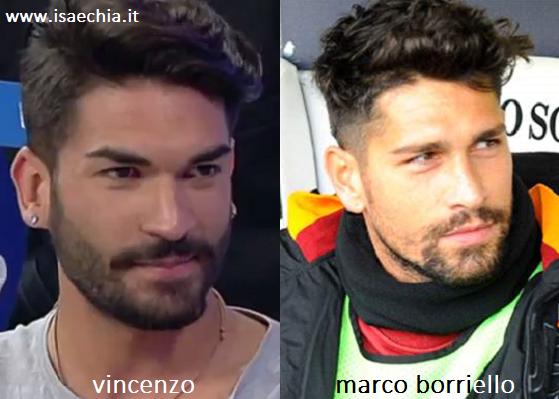 Somiglianza tra Vincenzo e Marco Borriello
