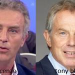 Somiglianza tra Vincenzo e Tony Blair
