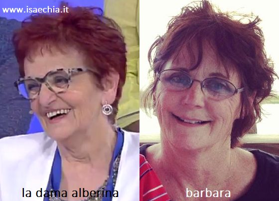 Somiglianza tra la dama Alberina e Barbara di 'Teen Mom'