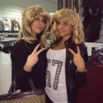 Mia Cellini e Francesca Cioffi